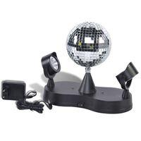 Party Fun Lights Discolamp met Twee Lichtspots