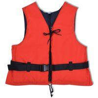 vidaXL Zwemvest 50 N 30-50 kg rood