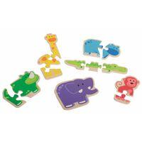 Beleduc Puzzels Happy Animal 18011