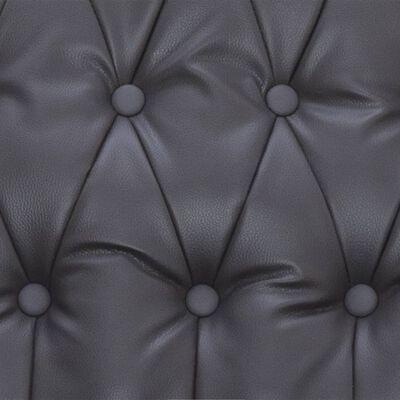 vidaXL Massagestoel verstelbaar kunstleer grijs