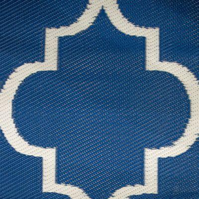 Bo-Camp Buitenkleed Chill mat Casablanca 2,7x2 m blauw