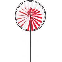 Windmolen Magic Wheel 138 X 63 Cm Polyester Rood/wit