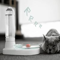 Waterfontein Voor Katten (420 Ml) Waterdispenser Zonder Stroom