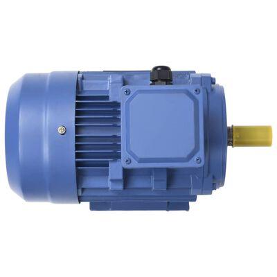 vidaXL Elektromotor 3 fase 2,2 kW/3 pk 2-polig 2840 rpm aluminium