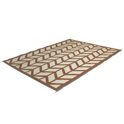 Bo-Camp Buitenkleed Chill mat Flaxton 2x1,8 m kleikleurig