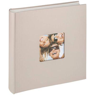 Walther Design Fotoalbum Fun 100 pagina's 30x30 cm beige
