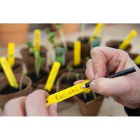 3 stuks Plantenetiketten H10cm incl. potlood set a 25 stuks