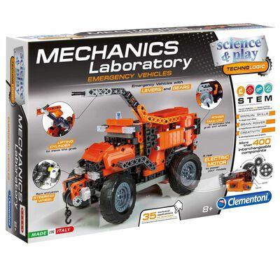 Clementoni Wetenschap & Spel Mechanica laboratorium bouw set 66827