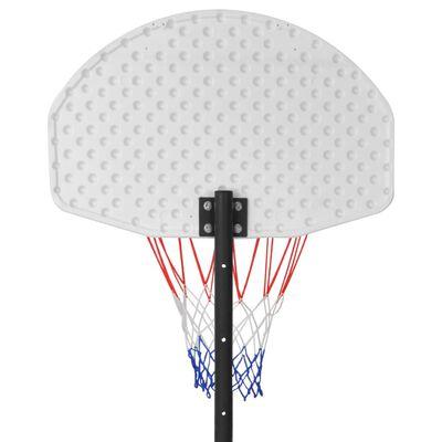 vidaXL Verplaatsbare basketbalring 250 cm