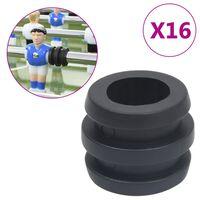 vidaXL Stangstopper tafelvoetbal 16 st 15,9/16 mm