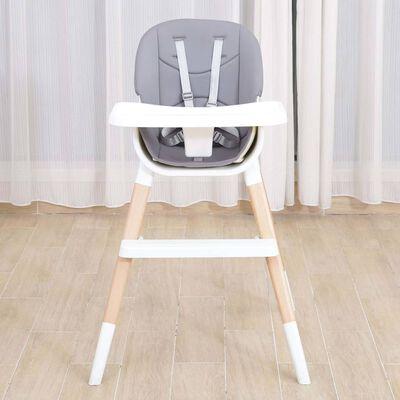 Kekk Kinderstoel baby wit en grijs