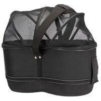 TRIXIE Fietsmand voor huisdieren bagagedrager 29x42x48 cm zwart