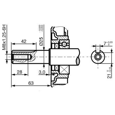 vidaXL Benzinemotor met elektrische start 15 pk 11 kW zwart
