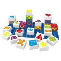 BiOBUDDi Bouwblokken set vormen 27-delig BB-0004