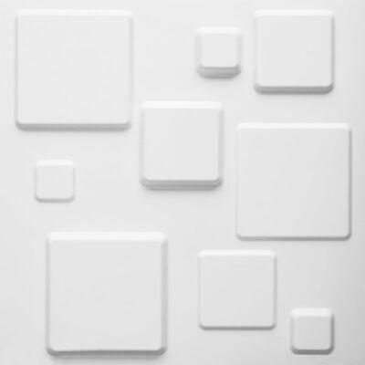 WallArt 24 st 3D-Wandpanelen GA-WA09 Squares