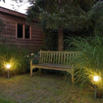 Luxform LED-tuinlampen 3 st Wyndham