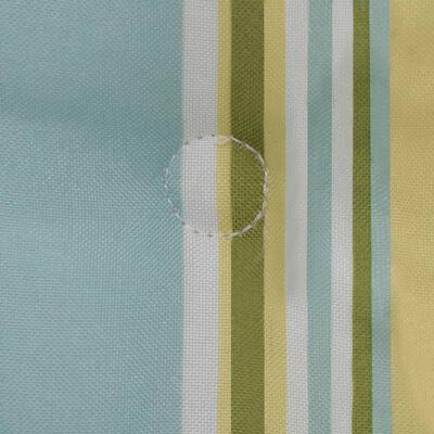 vidaXL Tuinstoelkussens bedrukt 2 st 120x50x3 cm meerkleurig