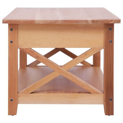vidaXL Salontafel 100x55x46 cm massief mahoniehout