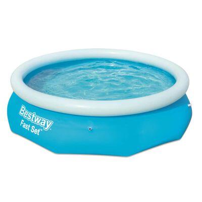 Bestway Zwembad Fast Set opblaasbaar rond 305x76 cm 57266