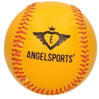 Oranje/gele Honkbal/softbal 10 Cm - Buitenspeelgoed Balsport -