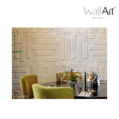 WallArt 3D Wandpanelen Bricks 12 stuks GA-WA02