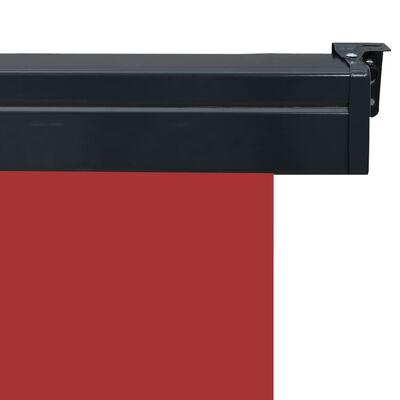 vidaXL Balkonscherm 120x250 cm rood,