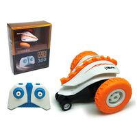 Sinovan RC Mini Cooi 360 Graden Stunt Racer Oranje