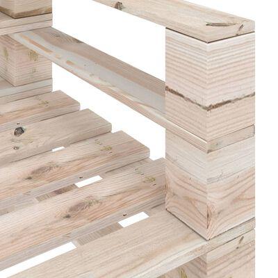 vidaXL Tuinbank pallet geïmpregneerd grenenhouten,