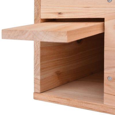 vidaXL Egelhuis 45x33x22 cm hout