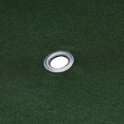 vidaXL Vervangend tentdoek prieel 310 g/m² 3x3 m groen, Green