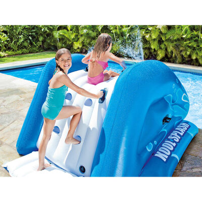 Intex Waterglijbaan opblaasbaar Kool Splash blauw