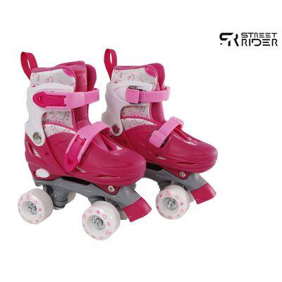 Street Rider Rolschaatsen verstelbaar 27-30 roze,