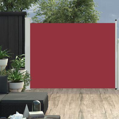 vidaXL Tuinscherm uittrekbaar 170x500 cm rood