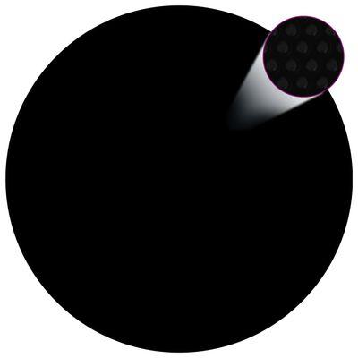 vidaXL Zwembadhoes 488 cm PE zwart