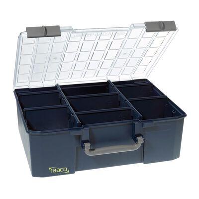 Raaco assortimentsdoos CarryLite 150-9 met 8 tussenschotten 136341