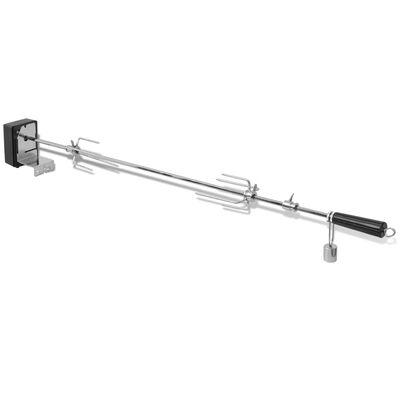 vidaXL BBQ Draaispit met motor staal 1000 mm