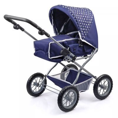 Bayer Poppenwagenset Combi Grande blauw 15051AB