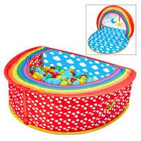 Worlds Apart Ballenbak pop-up 2-in-1 Rainbow 100x76x30 cm meerkleurig