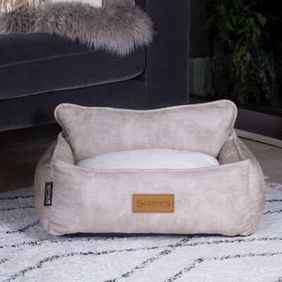 Scruffs & Tramps Hondenmand Kensington maat M 60x50 cm crèmekleurig