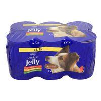 6x415 Gr Blik Hond In Jelly Assorti Hondenvoer