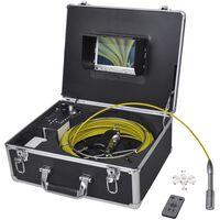 vidaXL Leidinginspectiecamera 30 m met DVR-schakelkast
