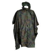Fostex Poncho Zwaar Woodland - camouflage Groen