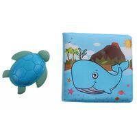 Johntoy Happy world badboekje en schildpad 14 cm