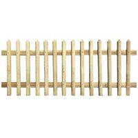 vidaXL Hek 170x120 cm 5/7 cm geïmpregneerd grenenhout
