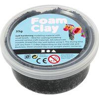 Foam Clay klei zwart 35 gram (78920)