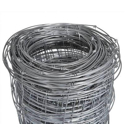 vidaXL Hek 50x1,25 m gegalvaniseerd staal zilverkleurig