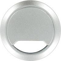 Kabeldoorvoer aluminium zilver 60 mm - Elektra kabeldoorvoeren buizen