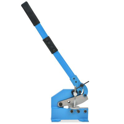 vidaXL Hefboomschaar 125 mm blauw