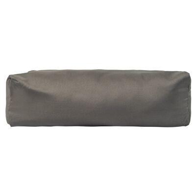 vidaXL Palletkussens 3 st polyester grijs