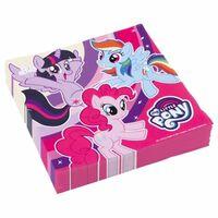 My Little Pony feest thema servetten 20x stuks